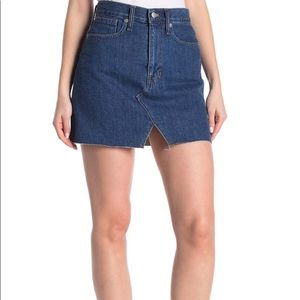 Madewell Cut Out Denim Mimi Skirt (coming soon)